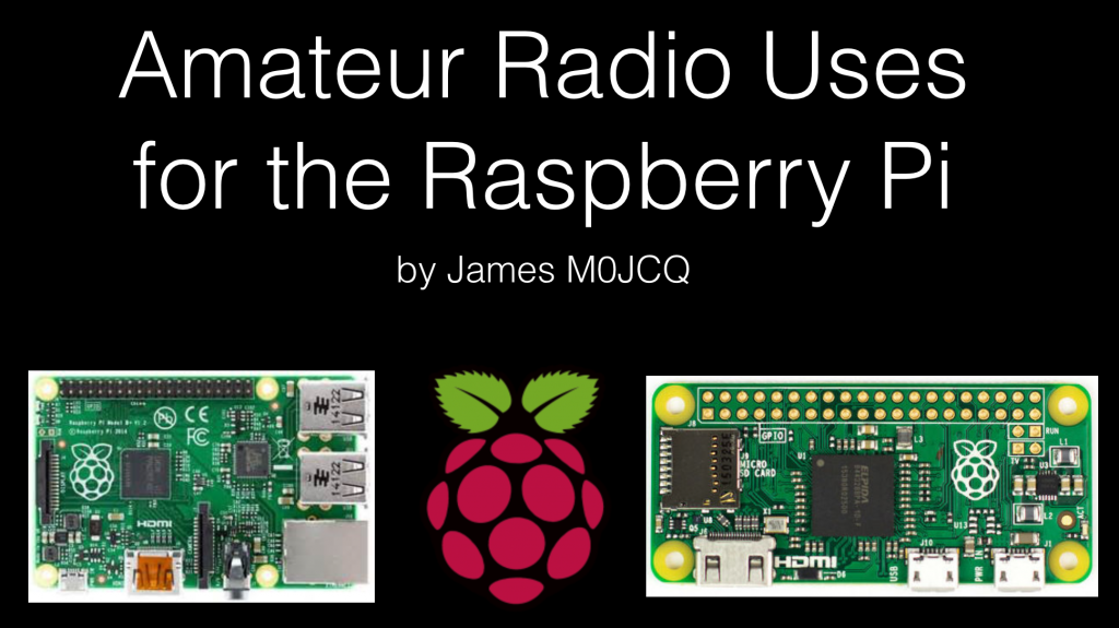 Amateur Radio Uses for the Raspberry Pi