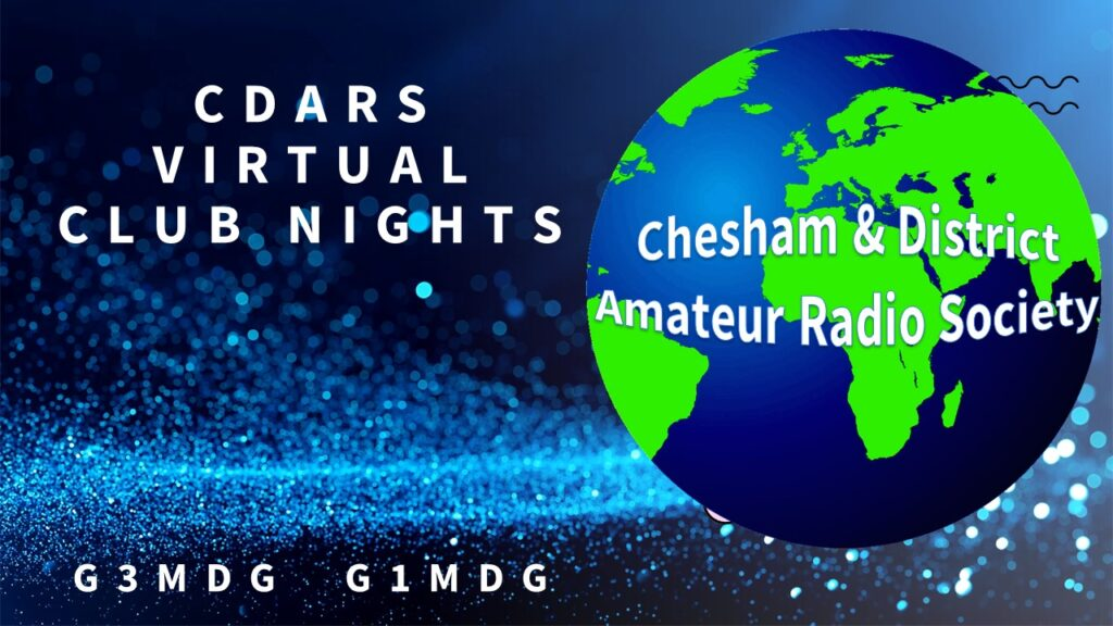 CDARS Virtual Club Nights