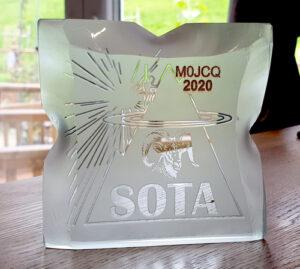 SOTA trophy